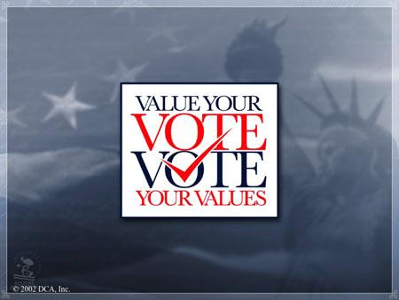 Vote Your Values